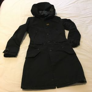 Used, G-star padded winter coat with removable hood for sale